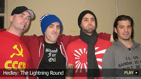 Hedley: The Lightning Round