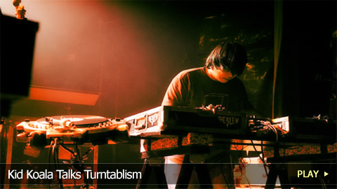 Kid Koala Talks Turntablism