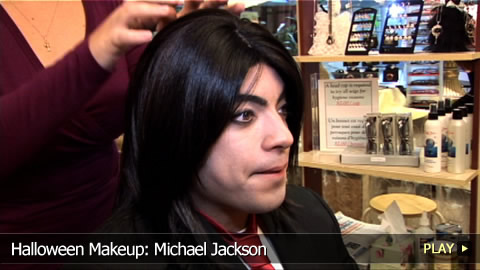 Halloween Makeup: Michael Jackson