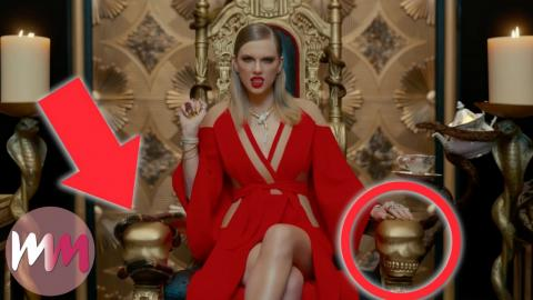 Top 10 References You Missed in Taylor Swift's Look What You Made Me Do