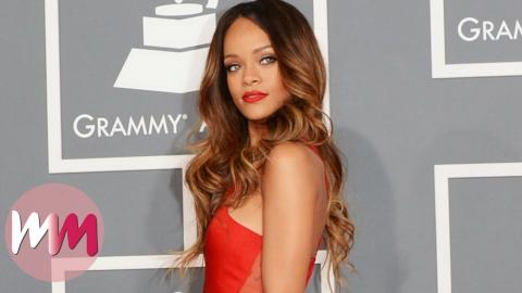Top 10 Rihanna Red Carpet Looks