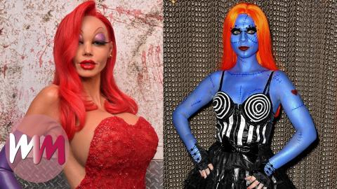 Top 10 Times Celebrities Rocked Halloween