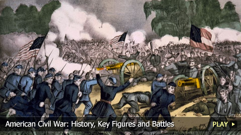 a summary of the key figures in the american civil war The facts the deadliest war in american history, the importance of the civil war cannot be underestimated taking more than 600,000 lives, the civil war paved the way for the establishing of the republican north and the democratic south.
