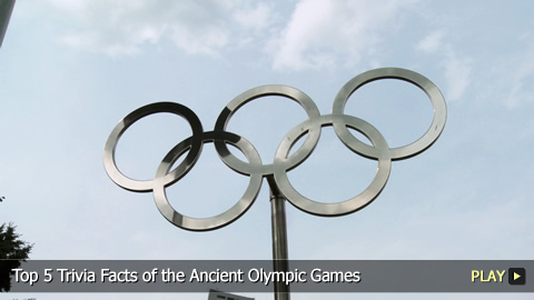 Top 5 Trivia Facts of the Ancient Olympic Games