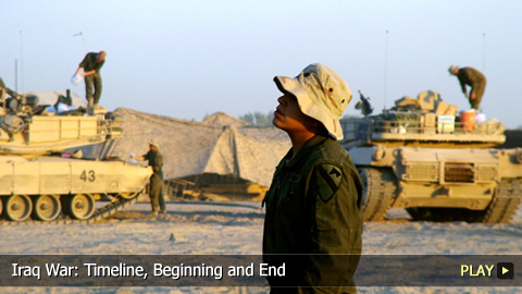 Iraq War: Timeline, Beginning and End