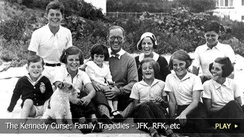 The Kennedy Curse: Family Tragedies - JFK, RFK, etc