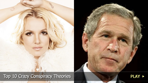 Top 10 Crazy Conspiracy Theories