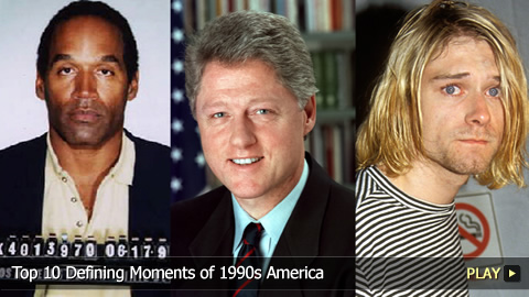 Top 10 Defining Moments of 1990s America