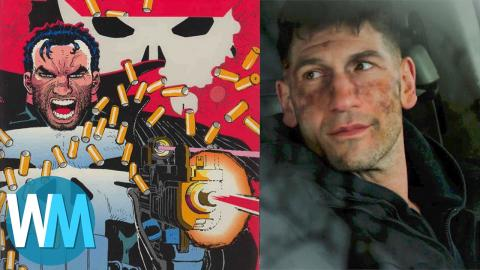 Top 10 Differences Between The Punisher TV Show and Comics