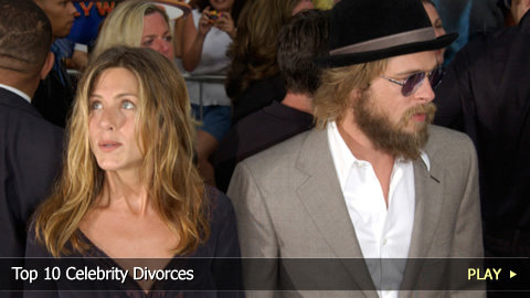 Top 10 Celebrity Divorces