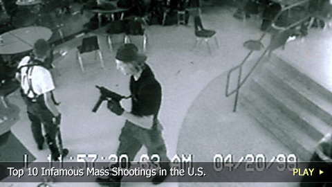 Top 10 Infamous Mass Shootings in the U.S.