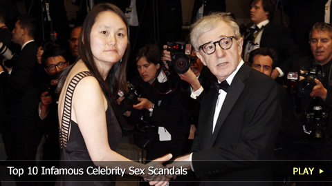 Top 10 Infamous Celebrity Sex Scandals