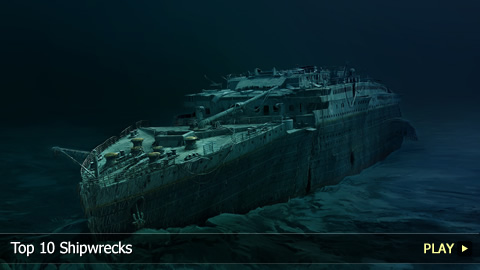 Top 10 Shipwrecks