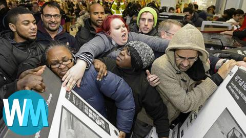 Top 10 Worst Things Ever to Happen on Black Friday