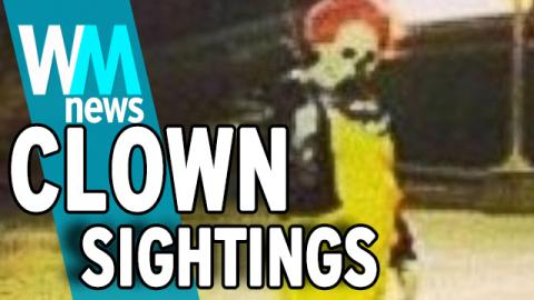 Creepy Clown Sightings! 5 Facts You Need to Know