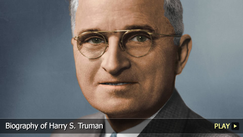 Biography of Harry S. Truman: Atomic Bombs, Communism, Korean War