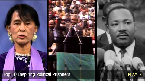 Top 10 Inspiring Political Prisoners