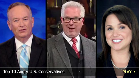 Top 10 Angry U.S. Conservatives