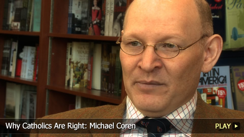 "Watch the Michael Coren Video(who is Jewish and Christian) about his Latest Book:""Ten Lies They Spread About Christianity"" (2012)"