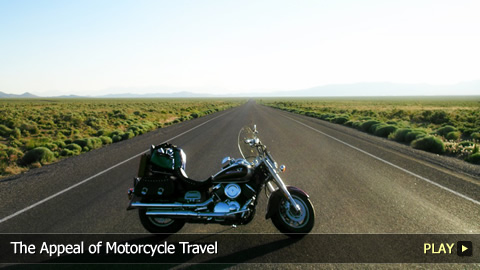 The Appeal of Motorcycle Travel