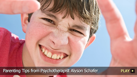 Parenting Tips from Psychotherapist Alyson Schafer