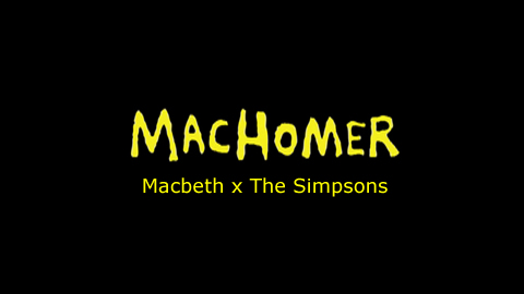 Rick Miller's One-Man-Show: MacHomer
