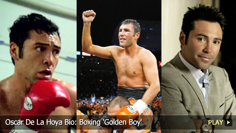 Oscar De La Hoya Bio: Boxing 'Golden Boy'