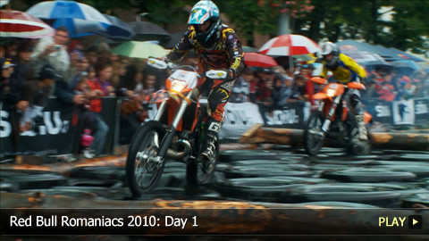 Red Bull Romaniacs 2010: Day 1