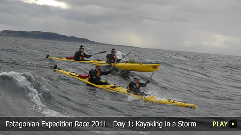 Patagonian Expedition Race 2011 - Day 1: Kayaking in a Storm