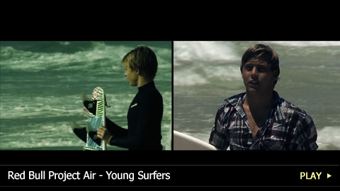 Red Bull Project Air - Young Surfers