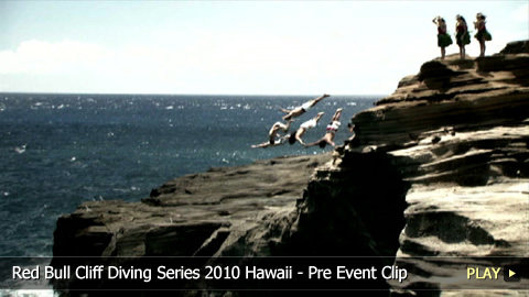 Red Bull Cliff Diving Series 2010 Hawaii - Pre Event Clip