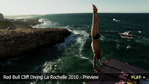 Red Bull Cliff Diving La Rochelle 2010 - Preview