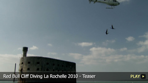Red Bull Cliff Diving La Rochelle 2010 - Teaser