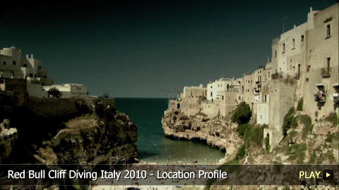 Red Bull Cliff Diving Italy 2010 - Location Profile