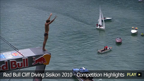 Red Bull Cliff Diving Sisikon 2010 - Competition Highlights