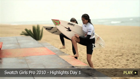 Swatch Girls Pro 2010 - Highlights Day 1