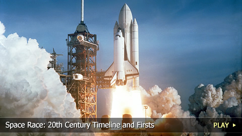 Space Race: 20th Century Timeline and Firsts