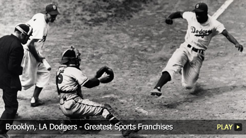 Brooklyn, LA Dodgers - Greatest Sports Franchises