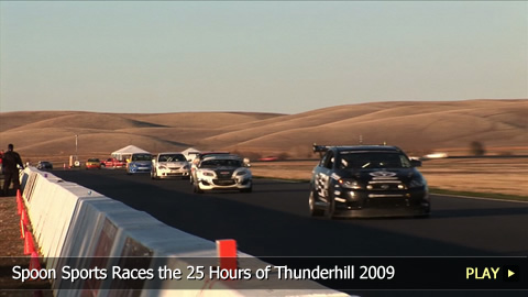Spoon Sports Races the 25 Hours of Thunderhill 2009
