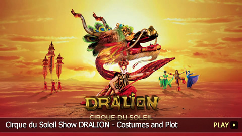 Cirque du Soleil Show DRALION - Costumes and Plot