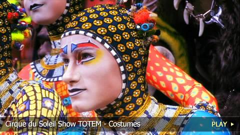 Cirque du Soleil Show TOTEM , Costumes