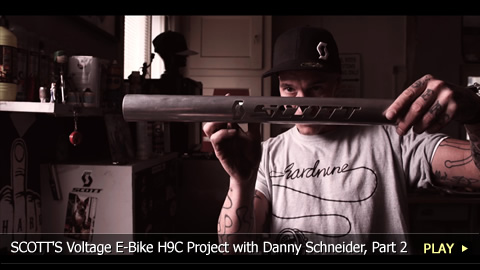 SCOTT'S Voltage E-Bike H9C Project with Danny Schneider, Part 2