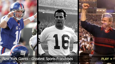 New York Giants - Greatest Sports Franchises