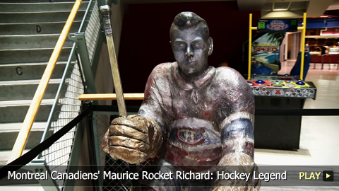 Montreal Canadiens' Maurice Rocket Richard: Hockey Legend