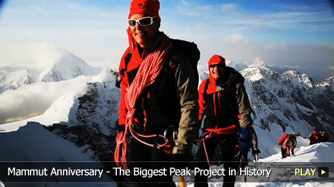 Mammut Anniversary Basecamp - Kicking Off the Biggest Peak Project in History