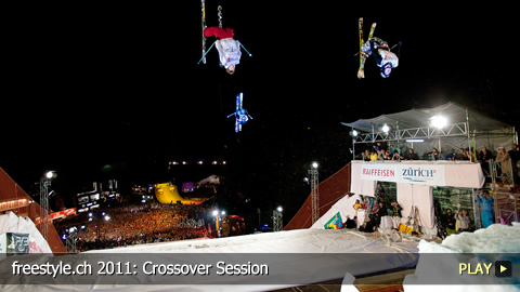 freestyle.ch 2011: Crossover Session at Europe's Biggest Freestyle Sports Event