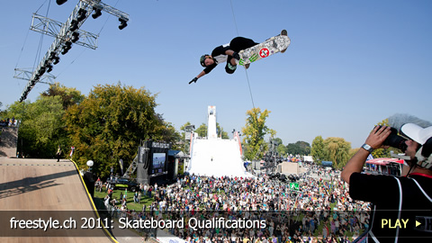 freestyle.ch 2011: Skateboard Qualifications at Europe's Biggest Freestyle Event