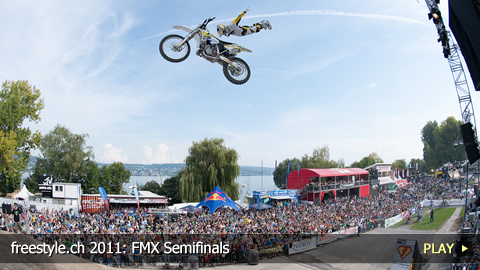 freestyle.ch 2011: FMX Semifinals at Europe's Biggest Freestyle Sports Event