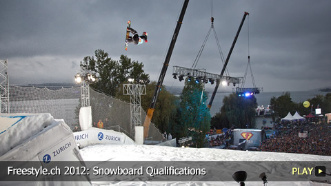 Freestyle.ch 2012: Snowboard Qualifications at Europe's Biggest Freestyle Event