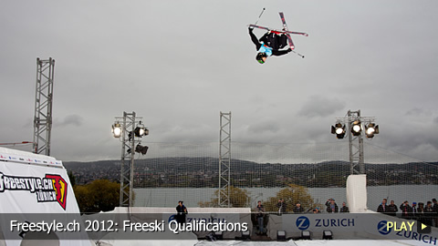 Freestyle.ch 2012: Freeski Qualifications at Europe's Biggest Freestyle Event
